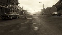 Postcard From The Past (Den7on) Tags: mafia iii sun 3 good evening new bordeaux hangar 13 2k czech lights outdoor orleans country return sunset road postcard from the past
