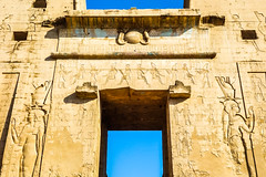 Egyptian gate (Michael Olea) Tags: 2015 travel egypt africa adventure northafrica aswan