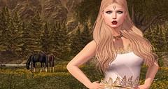 Meadow of  Salerius (Imaginarium Poses & http://thegoodgorean.blogspot.) Tags: voluptasvirtualis mystique vallani ersch whimsical luanesworld