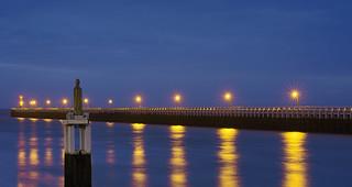stars on the pier