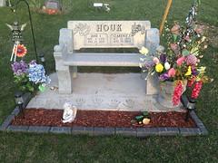 Headstone - Charles John Houk and Jane Ida Dymond