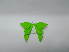 Butterfly by 212moving (Zephyr Liu) Tags: origami kami paper butterfly 225° 212moving