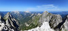panoramski pogled s Jalovca (2645 m) prema drugim vrhovima Julijskih Alpa, Slovenija / panoramic view from Jalovec (2645 m) towards other peaks of the Julian Alps, Slovenia (Hrvoje Šašek) Tags: panorama d3300 slowenien slovenia slovenija nature priroda landscape pejzaž panoramicview panoramskipogled view pogled morning jutro summer ljeto hribi alpigiulie julischealpen julianalps julijskealpe alpi alps alpen alpe hill cliffs litice cliff litica rocks stijene rock stijena summit peak vrh clouds oblaci cloud oblak hiker planinar hikers planinari hiking planinarenje mountains planine mountain planina triglavnationalpark triglavskinacionalnipark triglavskinarodnipark jalovec