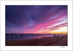 Sunset explosion (tmuriel67) Tags: colors watercolors waterscapes sky cielos colores nubes clouds sunset atardecer seascape outdoors ocaso ocean nature headlights paraiso paisaje elrompido