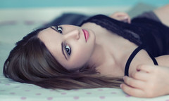 I'll fall in love tomorrow (Giulia Valente) Tags: portrait portraits posed portraiture romance romantic poem love look eyes pastel calm peaceful waiting alone beauty beautiful