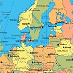 The Baltic Sea and surrounding countries