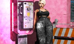 135. Pink $treet (SPICE.) Tags: treschic secondlife secondlifefashion secondlifeblogger virtualblogger elua seul