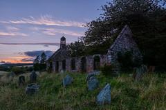 Lethendy Kirk (EricHarden) Tags: church ruin sunset scotland nikon d7100 perthshire 18200mm sky dusk clouds ruins