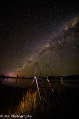 Steps to the stars (Mick Fletoridis) Tags: longexposure nightphotography nightsky stars starscape jindabyne snowymountains winter sonyimages sonya7s samyanglens australia