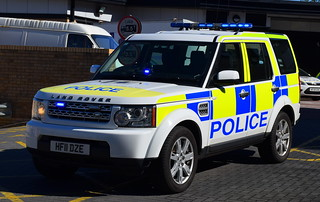 Dorset Police | Land Rover Discovery | Roads Policing Unit | HF11 DZE
