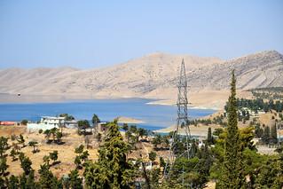 View towards Lake Dokan / Iraqi Kurdistan