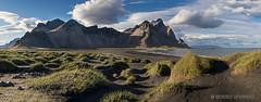 Iceland-Houwing-79 (Beverly Houwing) Tags: blacksand beach dunegrass mountains hofn southern coast iceland panorama