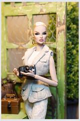 OOAK FASHION ROYALTY EUGENIA PERRIN FROST '' BOTANIC GARDEN '' by Aquatalis (AlexNg & QuanaP) Tags: makeover by quanap oufit alexng ooak fashion royalty eugenia perrin frost botanic garden aquatalis