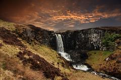Carbost waterfall (andrewmckie) Tags: carbost waterfalls isleofskye scotland scottishscenery scottish scenery outdoor
