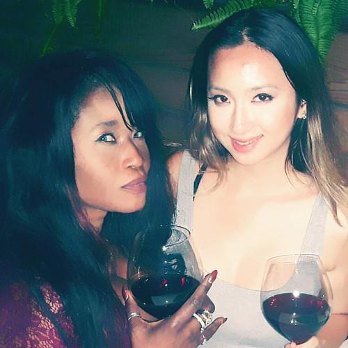 With my beautiful friend Liz @bethylulz ❤❤❤ She is just amazing! !!! #friendsforlife #friendsforkeeps #friends #friends❤️ #thesix #yorkville #yorkvilletoronto #yorkvillerestaurant #friendsandwine #girlwithwine