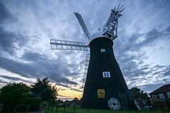 Holgate Windmill sunset, August 2017 - 4