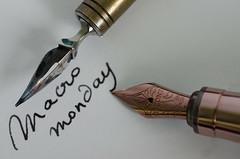 Ink Pens Evolution HMM - 72 (Marguerite-Helene) Tags: macromondays evolution plume pen ink 19thcentury 20thcentury calligraphy encre styloàplume