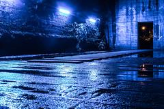 Slip not!!! (..Jan.) Tags: nacht beleuchtet tunnel ruine landschaftspark duisburg lapadu regen nass reflektion