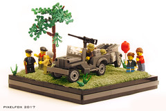 Willys MB / Ford GPW (Pixel Fox) Tags: lego jeep willys ford mb gpw offroad 4x4 diorama
