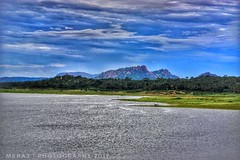 Kanva Dam. (Meraj.) Tags: nikondslr nikon55200mm sky green photography nikond5300 dslr nikon india karnataka hdr landscape kanvadam southindia asia bangalore lake water dam