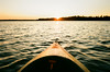 000463600031 (phatwhistle) Tags: michigan kayak sunset trees lake natuer water landscape kodakektar100 canonft