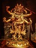 White Mahakala, a Buddhist deity of wealth Qing dynasty China 1700-1800 CE gilded bronze (mharrsch) Tags: buddhist whitemahakala wealth religion worship deity gold qingdynasty china 18thcenturyce asianartmuseum sanfrancisco mharrsch figurine sculpture statue gilt gilded bronze