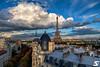 Cloudy day (A.G. Photographe) Tags: anto antoxiii xiii ag agphotographe paris parisien parisian france french français europre capitale toureiffel eiffeltower haussmann haussmannien nuage nuageux cloudy cloud nikon nikkor d850 2470