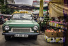 It's not unusual (Melissa Maples) Tags: antalya turkey türkiye asia 土耳其 apple iphone iphone6 cameraphone glitch summer market bazaar vintage vehicle classic turkish automobile car green number text numberplate anadol