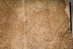 Relief from the palace of the Assyrian king Assurnasirpal II at Nimrud, 9th cent. BCE, Ny Carlsberg Glyptotek, Copenhagen (2) (Prof. Mortel) Tags: denmark copenhagen museum nycarlsbergglyptotek iraq assyria assyrian assurnasirpalii nimrud