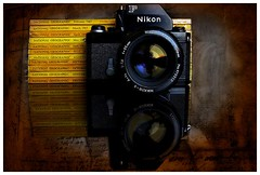 18244606 (ac   photo) Tags: nationalgeographic 1993 nikonf commercial product camera vintage film filmcamera studio tabletopphotography blackbackground reflection