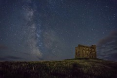 St Catherine's Chapel At Night (A Guy Taking Pictures) Tags: stars night star sony a6000 camra chapel 20 seconds shooting milky way perseid meteor shower