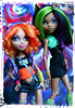 Img_885601 (GreenWorldMiniatures) Tags: werewolfsisters monsterhigh mh clawdeen howleen