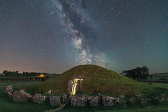 'Passage To The Stars' - Bryn Celli Ddu, Anglesey (Kristofer Williams) Tags: night sky stars milkyway astro astrophotography burialchamber passagegrave stoneage bronzeage bryncelliddu anglesey prehistoric neolithic nightscape landscape wales