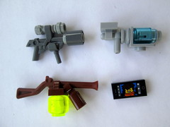 Things that go bang (slight.of.brick) Tags: lego steampunk scifi gun lazer freeze ray weapon samsung