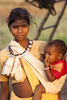 Baiga mother and child (wietsej) Tags: baiga mother child sony a700 sal70200g 70200 maikal hills chhattisgarh india rural tribal village wietse jongsma bhoramdeo