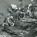 Marine Aid Station on Beach, Iwo Jima, 1945