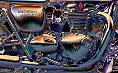 MACHINE (Franco D´Albao) Tags: franco dalbao lumix máquina machine moto motorbike motor matal ingeniería mecánica mechanics