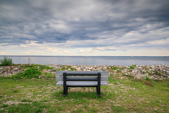 Bench (Jemlnlx) Tags: canon eos 5d mark iv 4 5d4 5div ef 1635mm f4 l is usm wide angle lens landscape photography scenic norwalk ct sheffield island lighthouse ferry cruises tours connecticut tiffen bw gnd graduated neutral density filter 10stop 30 bench
