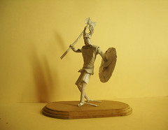 Norse Warrior Origami (Marcos Origami) Tags: origami human figure warrior tribal norse viking artwork