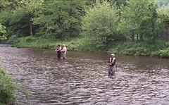 Kettle Creek at Route 144 Bridge (rentavet) Tags: kettlecreekpottercounty flyfishing catchandrelease trout analog nikkormatel konicacenturia400asa expired012006 kettlecreeklodgeandcabins june2017 pottercountypa pawilds troutfishing