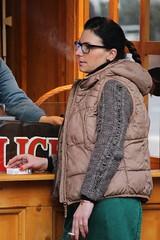 Let it Go (if you insist) Tags: smoking smoker exhale eurosmoke tobacco nicotine addict candid cigarette female breath gwg glasses
