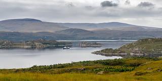 Fishing in Loch Torridon