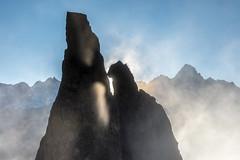 Lever de soleil dans la brume (belval74) Tags: aiguillesrougesfizpormenaz bassinargentiere bassindutour brumebrouillard france hautesavoie leverdesoleil massifmontblanc montagne paysage phenomènenaturel