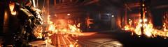 Death Of Field (D U B L) Tags: titanfall 2 respawn entertainment electronic arts ea pano panorama cutscene titan robot fire flames burning burnt dof