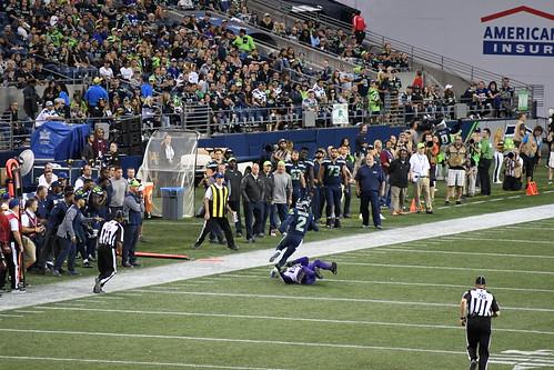 2017 Seahawks vs Vikings pre season game