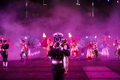 Tattoo 2nd Visit-68 (Philip Gillespie) Tags: 2017 edinburgh international military tattoo splash tartan scotland city castle canon 5dsr crowds people boys girls men women dancing music display pipes bagpipes drums fireworks costumes color colour flags crowd lighting esplanade mass smoke steam ramparts young old cityscape night sky clouds yellow blue oarange purple red green lights guns helicopter band orchestra singers rain umbrella shadows army navy raf airmen sailors soldiers india france australia battle reflections japan fire flames celtic clans