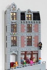Brick Store 1 (cimddwc) Tags: lego modular facade