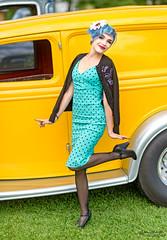 Yellow (oshcan) Tags: model alterative portrait beautiful woman girl pinup nikon d4s 85mm14