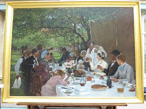 Rouen - Musee des Beaux-Arts, wedding breakfast
