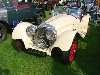 Suffolk Jaguar SS100 Replica